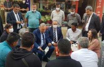 CHP'li Bayır'dan Şırnak'ta KOBİ mesaisi