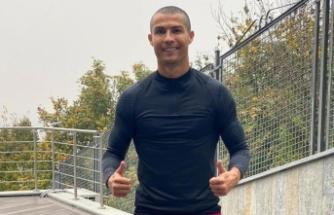Cristiano Ronaldo karantinada saçlarını kazıttı