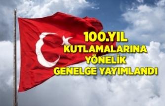 Cumhuriyet'in 100. yılı kutlamalarına yönelik genelge Resmi Gazete'de yayımlandı