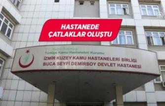 Deprem nedeniyle hastane tahliye edildi!