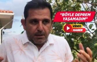 Fatih Portakal deprem anını anlattı!