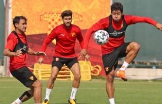 Göztepe, Kasımpaşa maçının hazırlıklarını sürdürdü