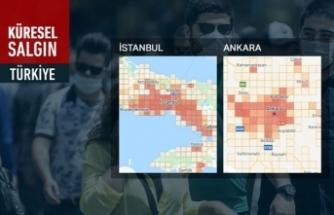 İstanbul'da 'kırmızı' alarm! Hangi ilçelerde yoğunlaştı?