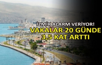İzmir alarm veriyor! Vakalar 20 günde 3,5 kat arttı