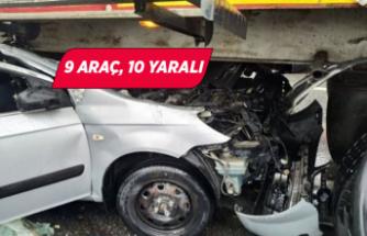 İzmir-Aydın Otoyolu'nda zincirleme kaza!