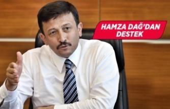 İzmir Milletvekili Hamza Dağ, depremzedelere seslendi