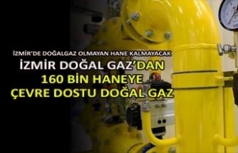İzmir'de doğalgaz olmayan hane kalmayacak
