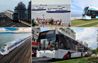 İzmir'de toplu taşıma bugün 1 kuruş!