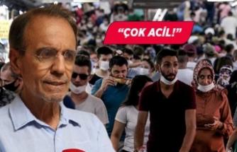 Prof. Dr. Mehmet Ceyhan 'çok acil' diyerek uyardı!