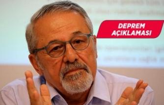 Prof. Dr. Naci Görür'den deprem açıklaması!