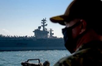 ABD uçak gemisi Orta Doğu'ya geri dönüyor