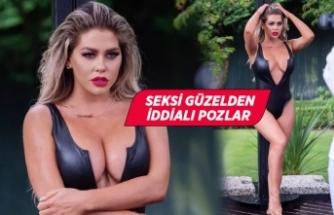 Bianca Gascoigne'nin 2021 takvimi için Türkiye'de poz verdi!