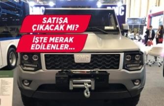 BMC'nin yerli üretim SUV'u Tulga!