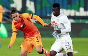 Çaykur Rizespor 0-4 Galatasaray