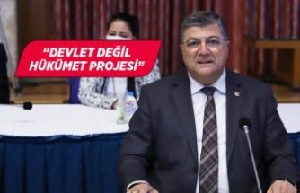 CHP'li Sındır, Kanal İstanbul'u eleştirdi