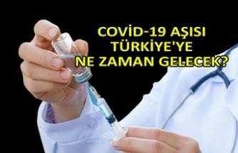Covid-19 aşısı Türkiye'ye ne zaman gelecek?