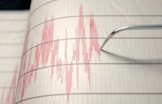 Elazığ'da 3.7 büyüklüğünde deprem!