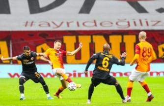 Galatasaray: 1 - Hes Kablo Kayserispor: 1
