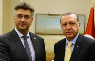 Hırvatistan Başbakanı Plenkovic'in Kovid-19 testi pozitif çıktı