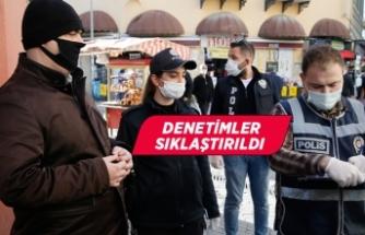 İzmir'de Kovid-19 tedbirlerine yönelik denetimler sıklaştırıldı