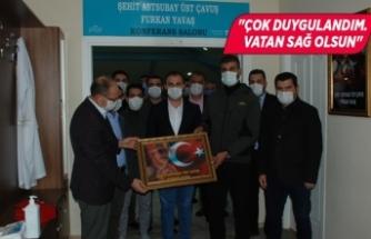 İzmir'de şehidin ismi konferans salonuna verildi