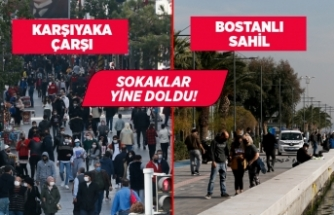 İzmir'de kısıtlama bitti, meydanlar hareketlendi