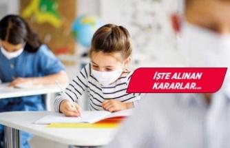 İzmir Valiliği'nden 'yüz yüze eğitim' kararı!