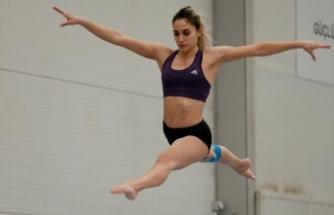 Milli cimnastikçi Göksu Üçtaş Şanlı, enerjisini genç sporculardan alıyor