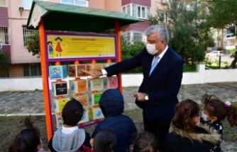 Narlıdere parklarına 'Çocuk Hakları'na özel oyuncak