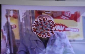 O ilde maske takmayanların yüzü virüsle kaplandı!