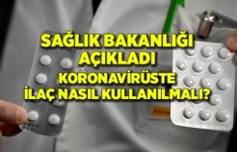 Sağlık Bakanlığı, Kovid-19 tedavisinde doğru ilaç kullanımını açıkladı
