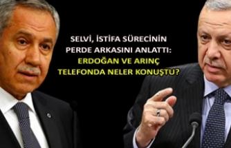 Selvi, istifa sürecinin perde arkasını anlattı: Erdoğan ve Arınç telefonda neler konuştu?