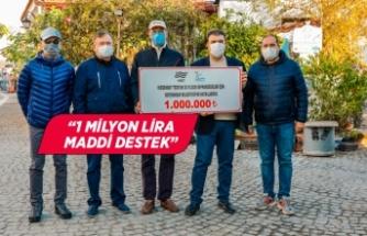 Sığacık'ta tsunaminin yaraları sarılıyor