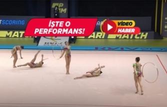 Türkiye, Kadın Ritmik Cimnastik dalında Avrupa şampiyonu oldu!