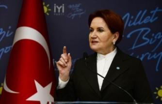 Akşener'den: Önce Erdoğan herkesin gözü önünde yaptırsın