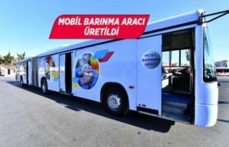 Arama kurtarma ekipleri için mobil barınma aracı