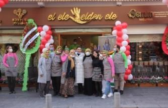 El Ele & Elden Ele mağazasıyla yerel üretici hayata tutunuyor