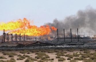 Irak'ta füze saldırısına hedef olan petrol rafinerisinde üretim durduruldu