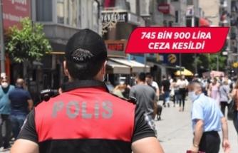 İzmir'de maske denetimi