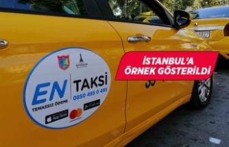 İzmir'deki EnTaksi uygulaması İstanbul'a örnek gösterildi