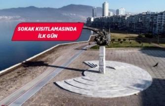 İzmir'in meydanları bomboş kaldı!