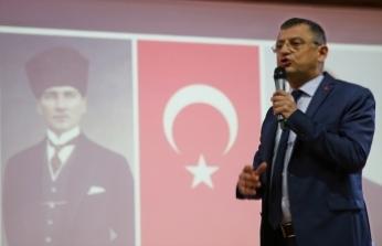 CHP'li Özel, partisininManisaİl Kongresi'nde konuştu