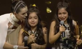 Kadın dizisinin küçük yıldızı Kübra Süzgün'ün duygusal anları!