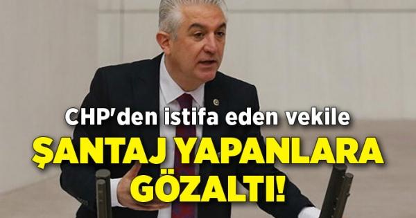 Εκείνοι που εκβιάζουν τον αναπληρωτή που παραιτήθηκε από το CHP κρατούνται!