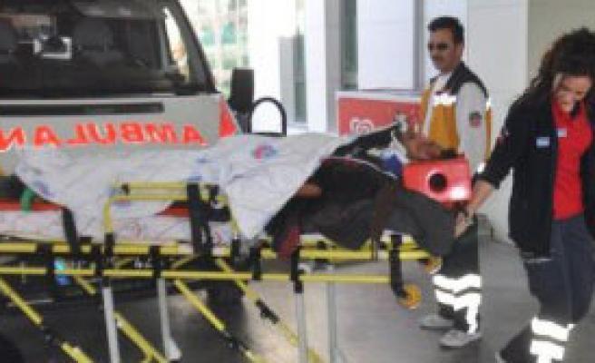 İşçi Servisi Devrildi: 7 Yaralı