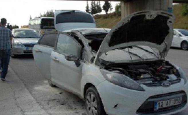 Yakılan Otomobilden 60 Kilo Eroin Çıktı