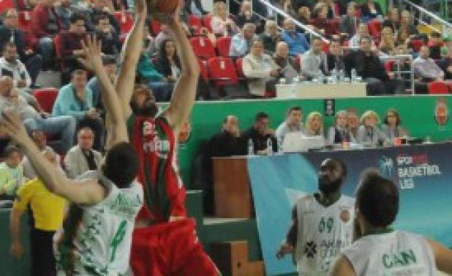 Yeşilgiresun Belediyespor-Pınar Karşıyaka: 72-98