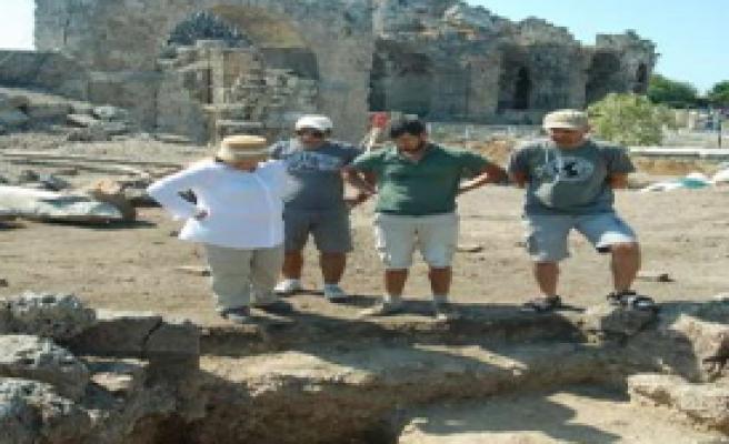Side Kazılarında Önemli Eserler Bulundu