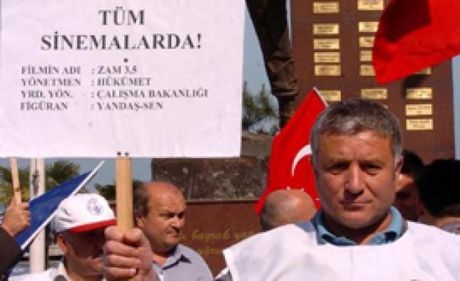 Zonguldak'ta 'Vur Patlasın Çal Oynasın' Eylem