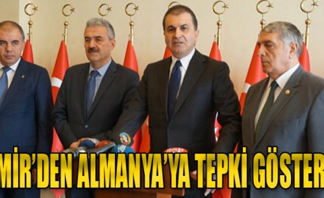 İzmir'den Almanya'ya Tepki Gösterdi